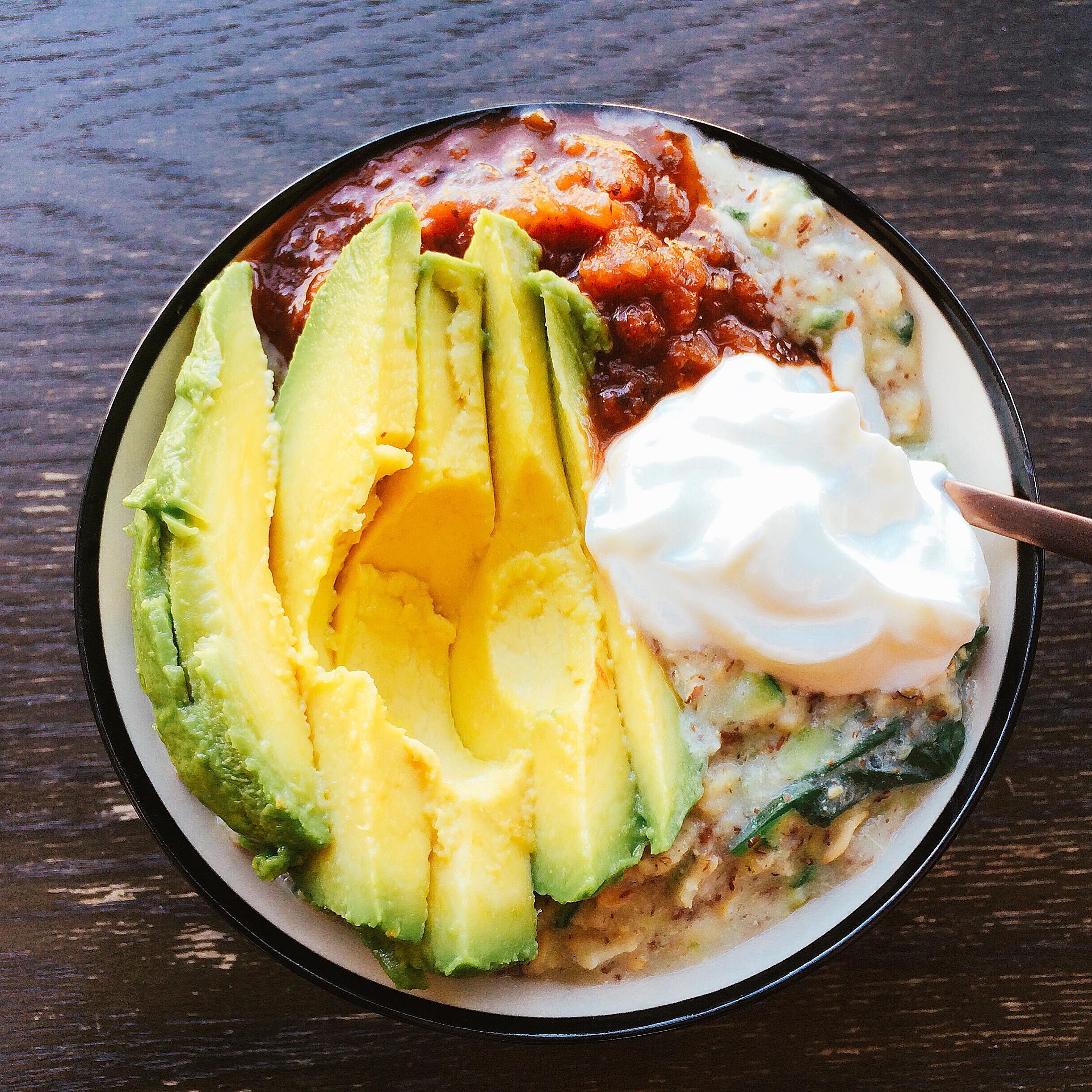 Heart-Healthy Taco Oatmeal