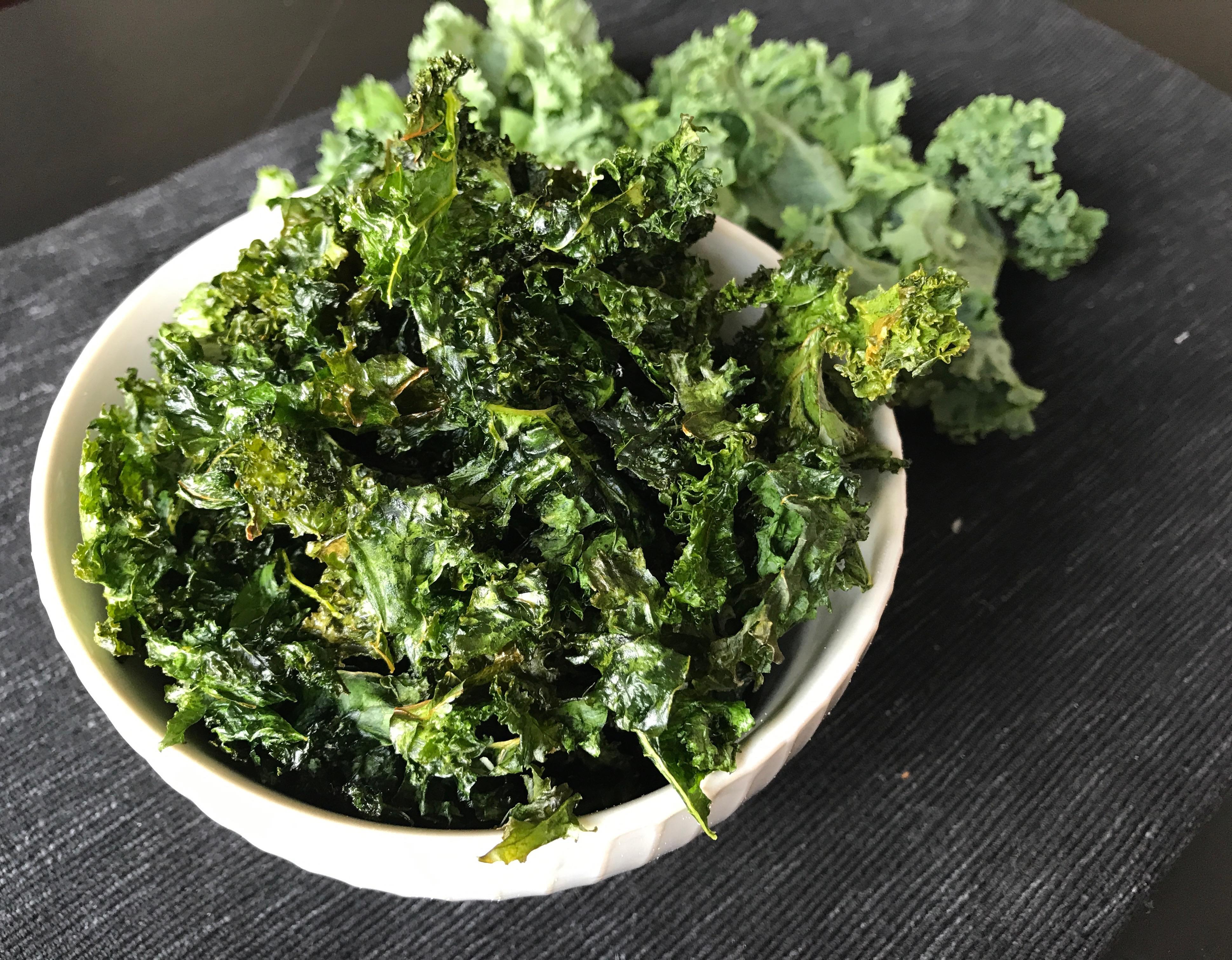 Drama-Free Recipe: Kale Chips