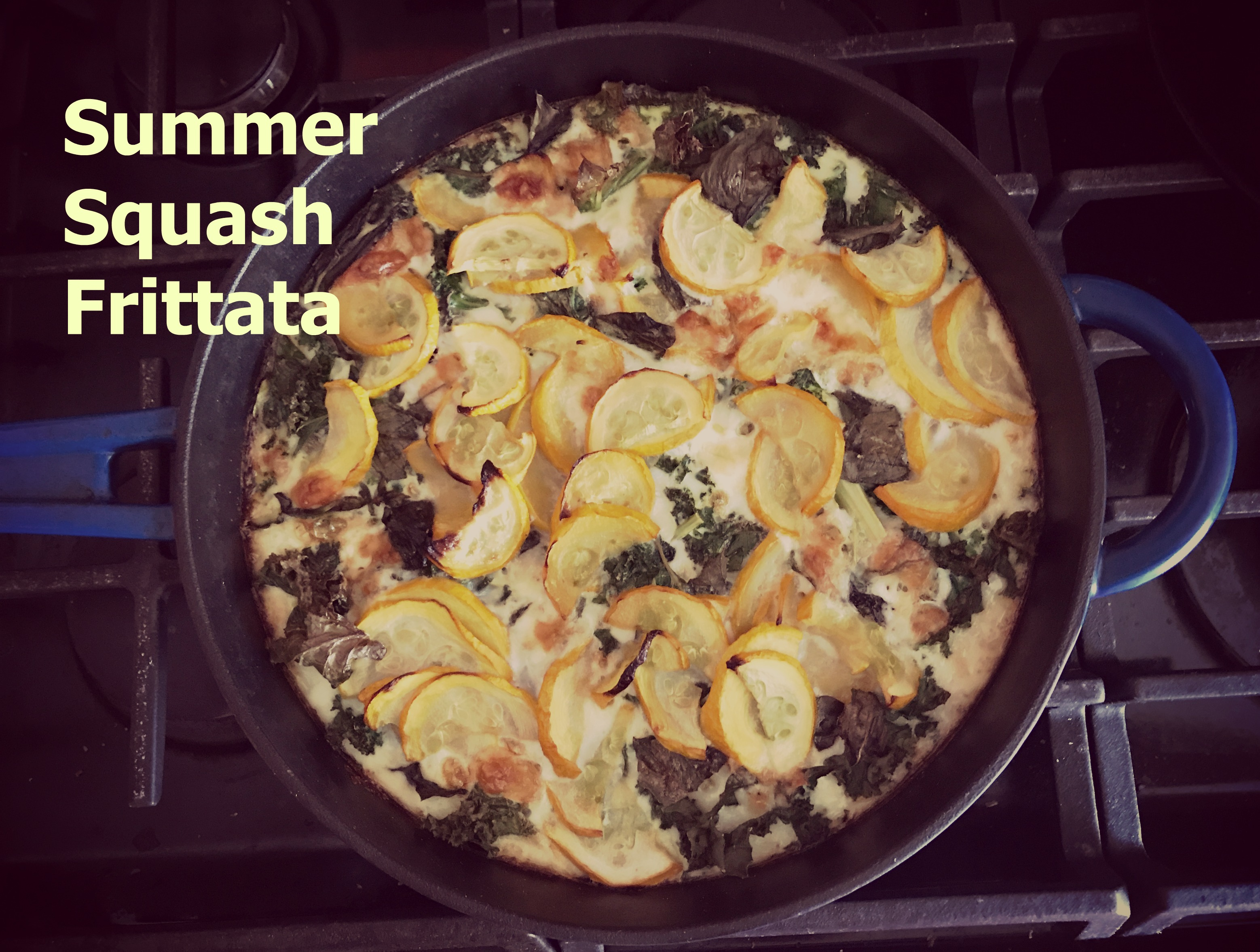 Summer Squash Frittata