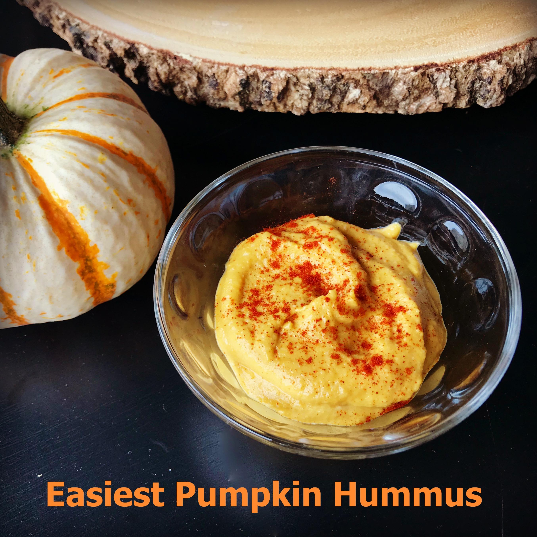 Easiest Pumpkin Hummus