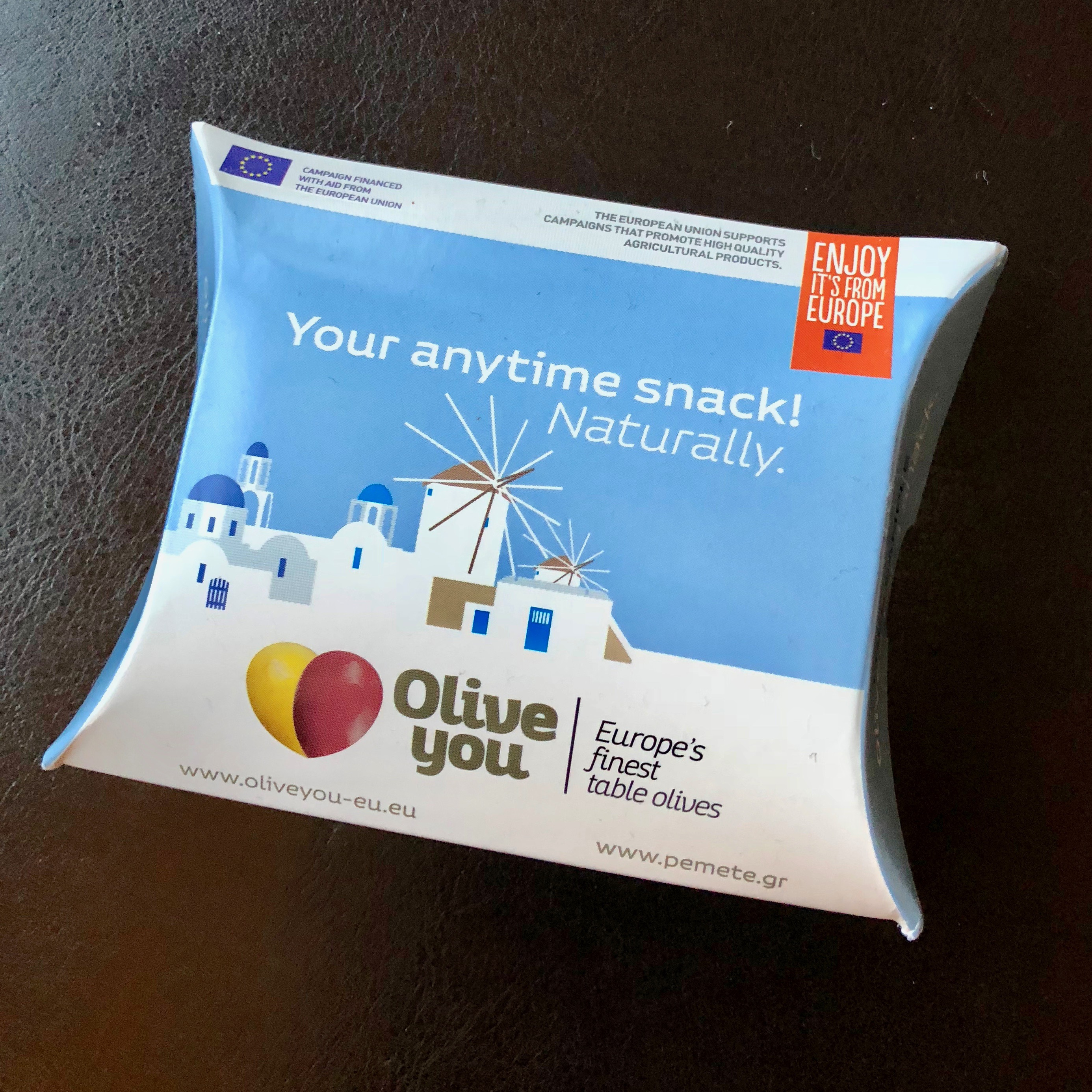 Giveaway: Olive You Snack Packs