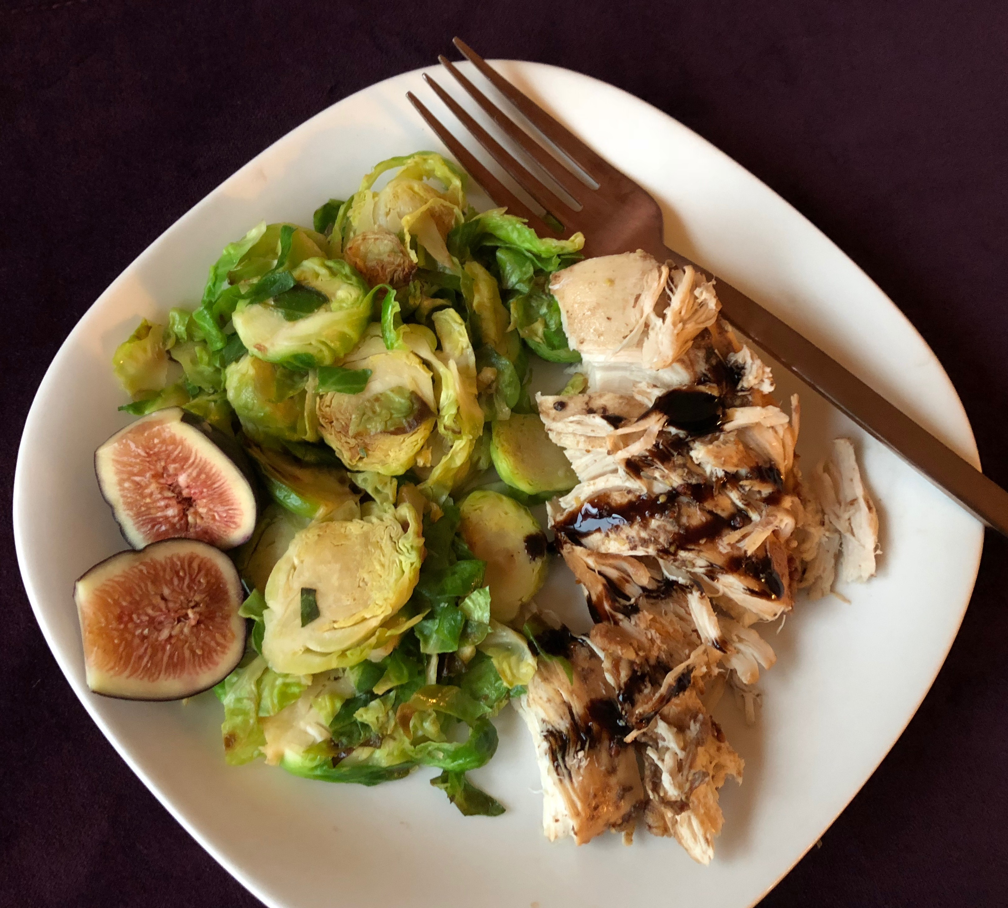Slow Cooker Fig Balsamic Chicken